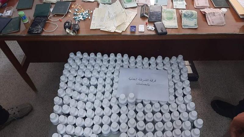 الحمامات: شبكة تهريب مخدرات تُدخل 14 ألف حبة مخدرة من الجزائر