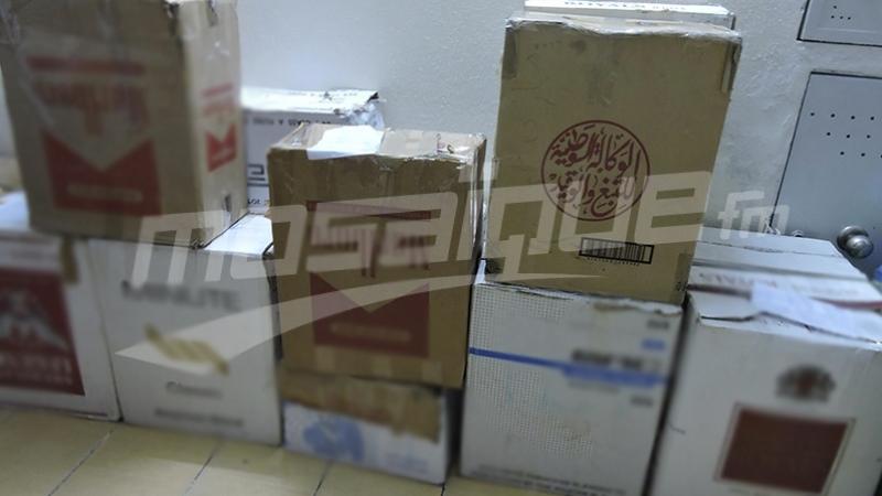 العاصمة: حجز كمية من علب السجائر مهربة من الجزائر