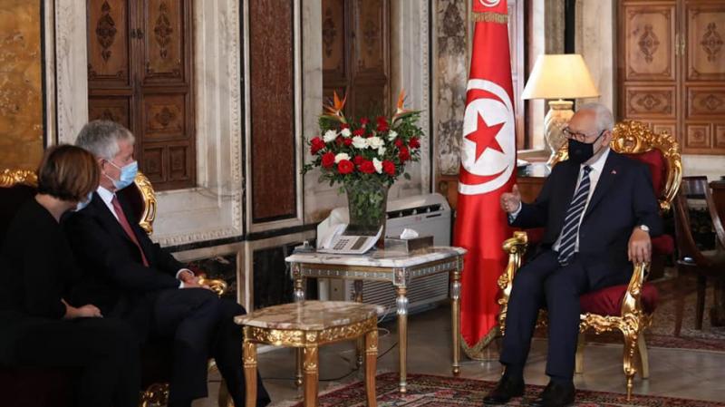 بين سفير فرنسا والغنوشي:حديث عن الارهاب وكورونا والاتصال السمعي البصري