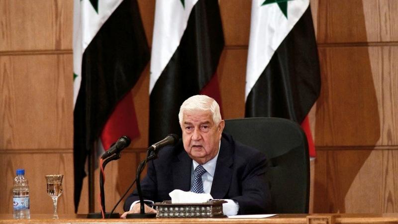 وفاة وزير الخارجية السّوري وليد المعلم
