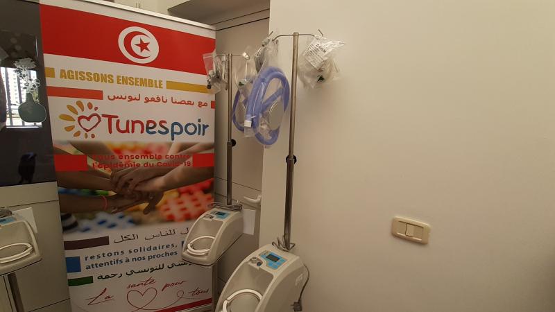 فرحات حشاد: تونسيون بالخارج يدعمون قسم الإنعاش الجراحي بآلات تنفس