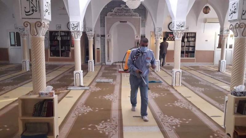 غمراسن: الكشافة التونسية تعقّم المساجد استعدادا لإعادة فتحها