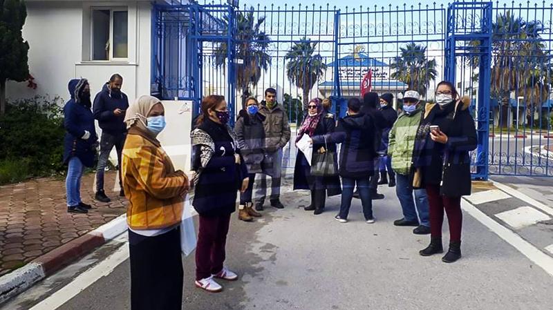 صفاقس: وقفة احتجاجية بسبب أزمة الغاز والبنزين