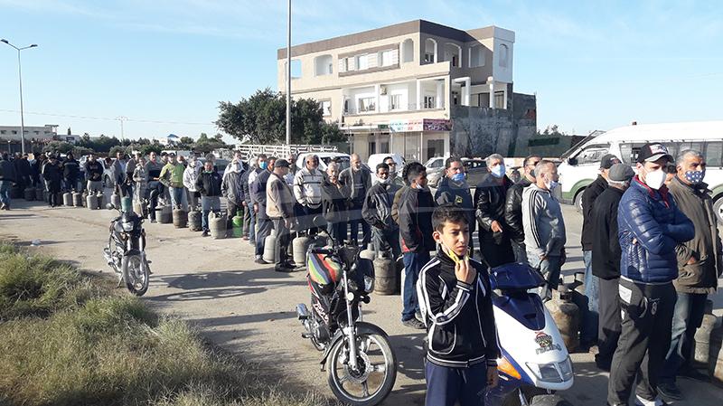 القيروان: احتقان بسبب نقص الغاز المنزلي.. والأمن على الخط