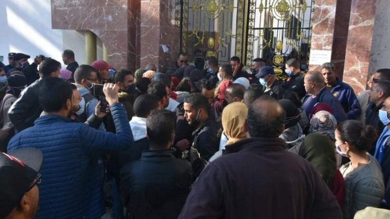 احتجاجات بمدن الحوض المنجمي