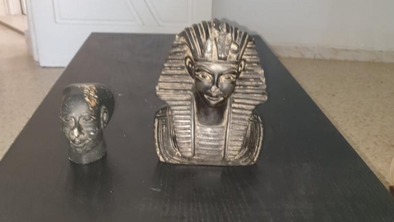 بنقردان: حجز قطع أثرية فرعونية نادرة جدا