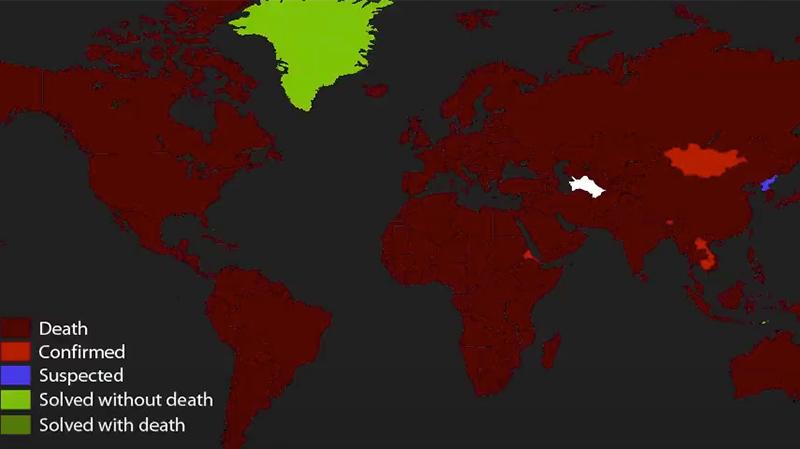أكثر من 60 مليون إصابة بكوفيد-19 في العالم