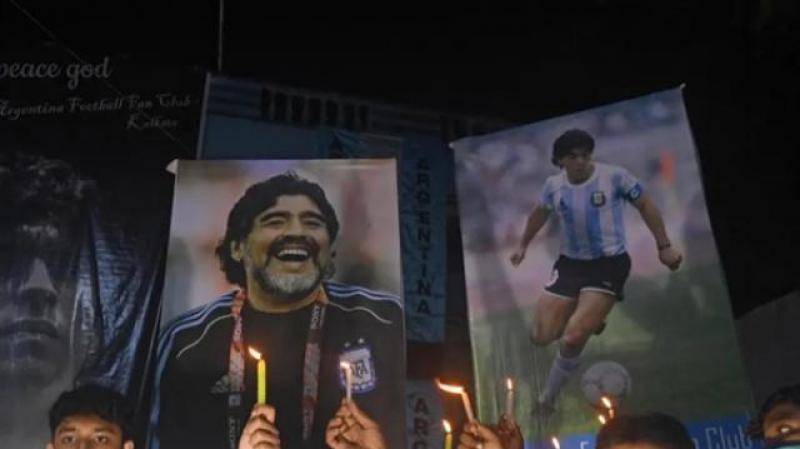 كيف ودّع العالم أسطورة كرة القدم مارادونا؟