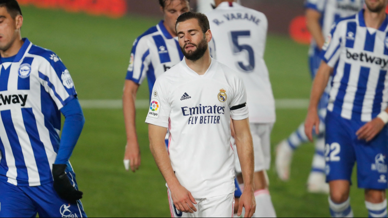 الليغا: ريال مدريد يسقط على ملعبه أمام ألافيس