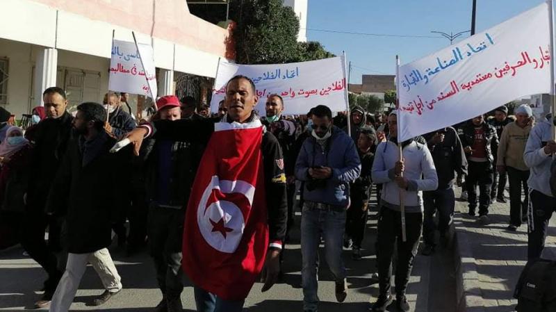 قفصة: إضراب عام في معتمدية السند