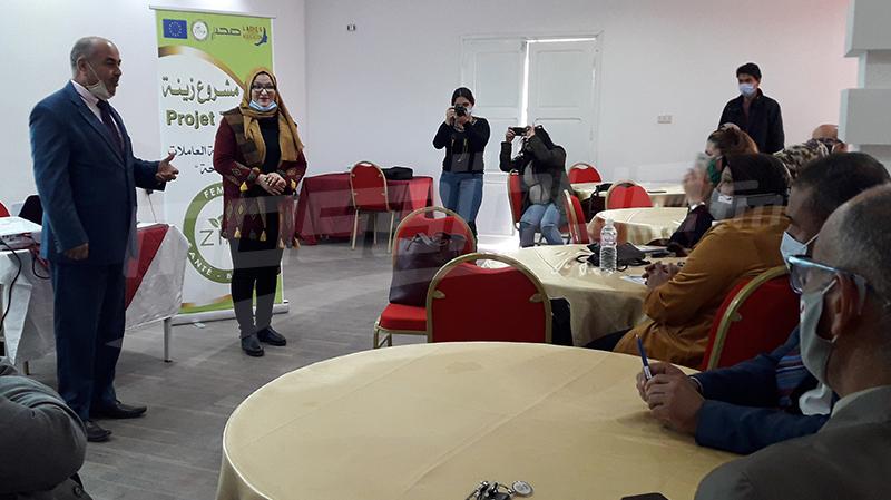 سيدي بوزيد: إطلاق مشروع ''زينة'' للنساء العاملات بالقطاع الفلاحي