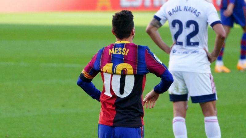 في دوري أبطال أوروبا: ميسي خارج قائمة برشلونة