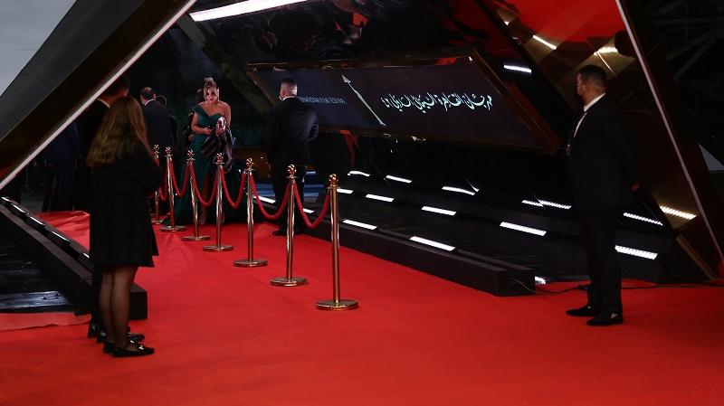 افتتاح الدورة 42 من مهرجان القاهرة السينمائي الدولي