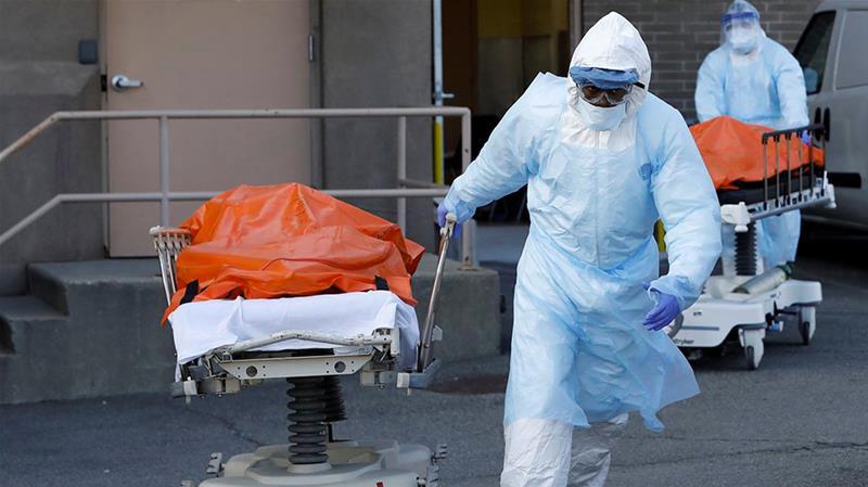 2731 وفاة بكورونا في أمريكا خلال 24 ساعة