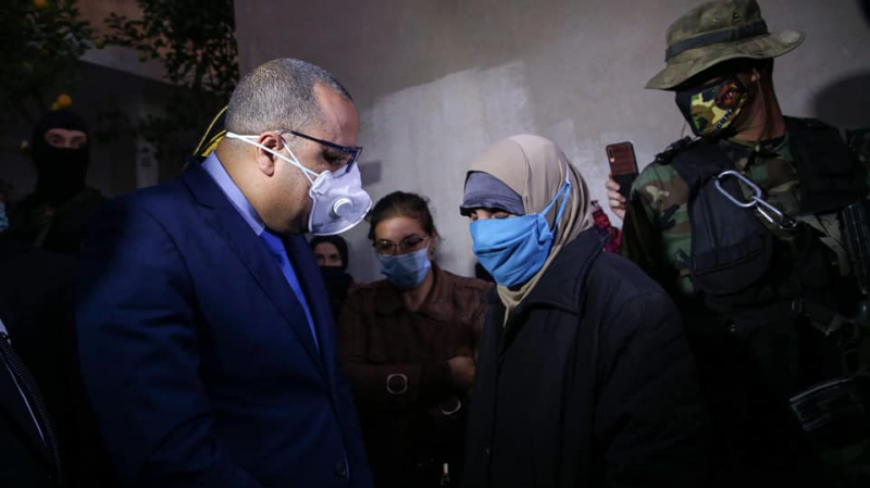 المشيشي من منزل شهيد الواجب: المستشفيات أصبحت مقابر المواطنين