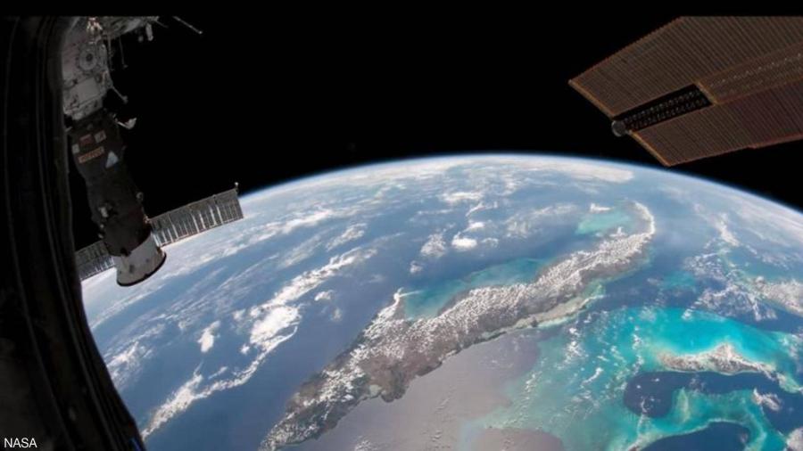 هكذا تبدو الأرض من الفضاء