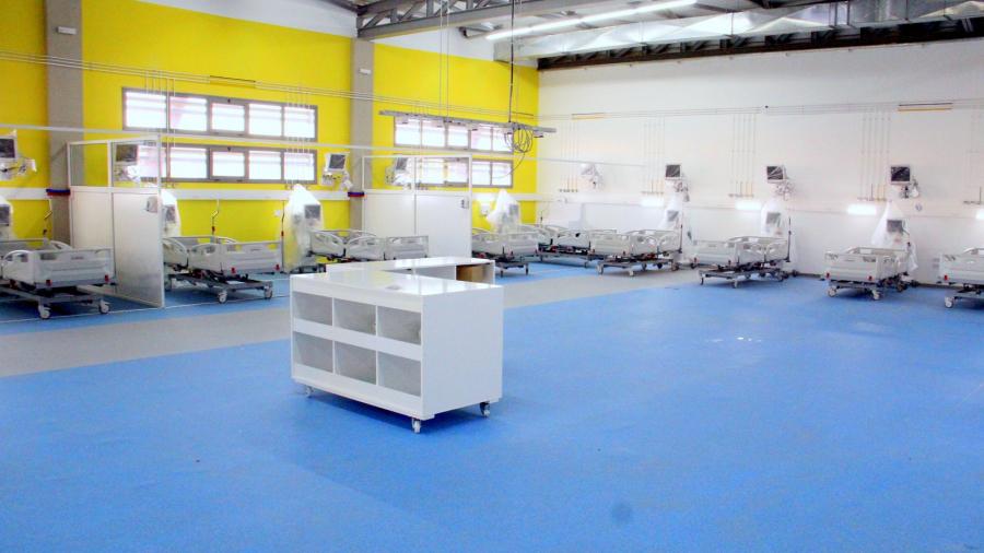 تركيز 26 سرير إنعاش بالمستشفى الميداني بالمنزه