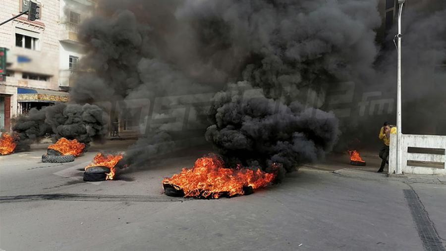 شيخةمدينة تونس: الاحتجاجات الليليّة لم تتسبّب في خسائر للبلدية