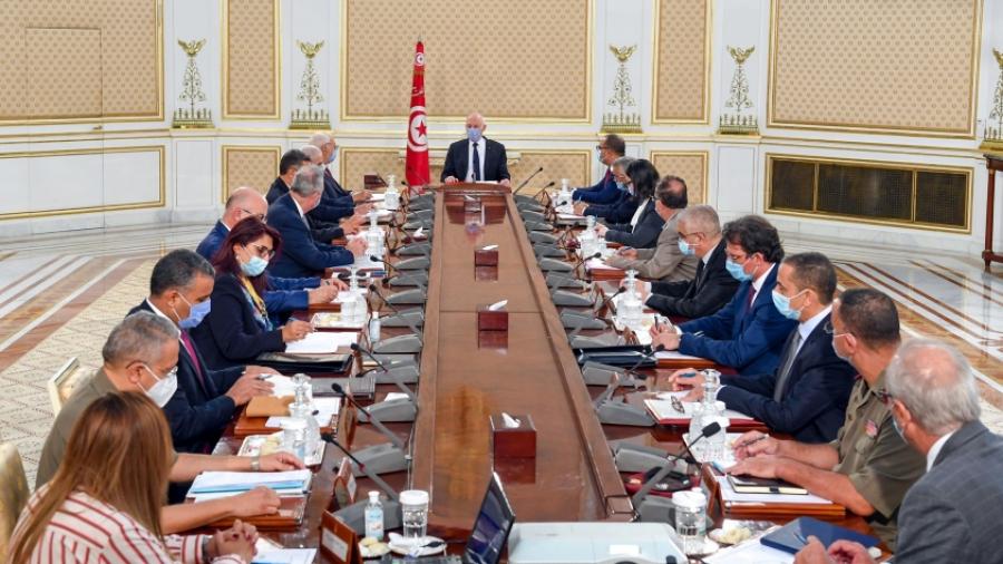 رئيس الجمهورية يشرف على اجتماع مجلس الأمن القومي