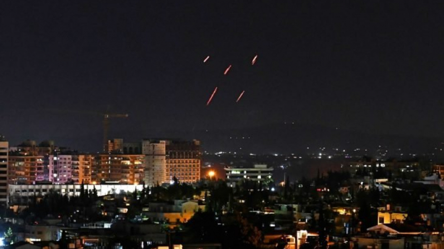 سوريا: دفاعاتنا الجوية تتصدى لعدوان إسرائيلي في محيط دمشق
