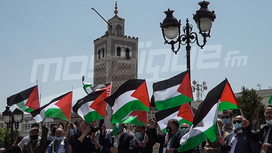 أحزاب ومنظمات تنفذ وقفة تضامنية من فلسطين