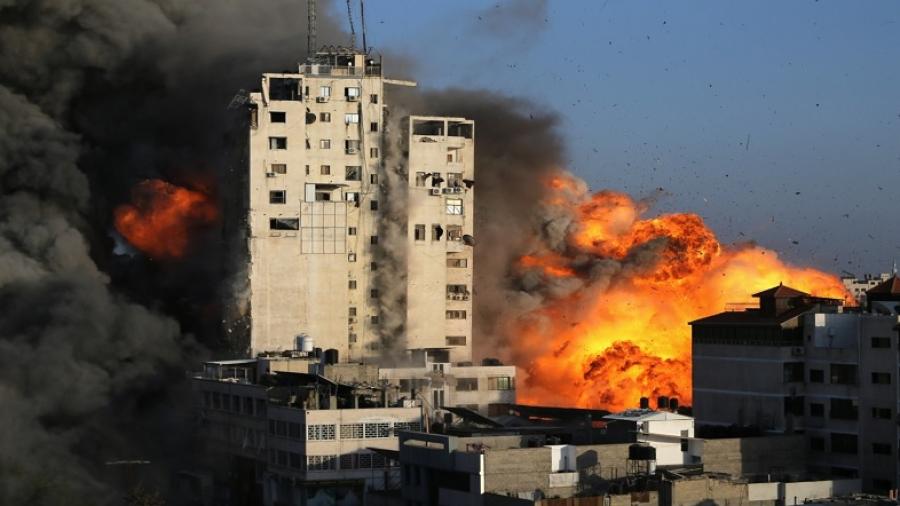استشهاد 17 فلسطينيا في ضربات للإحتلال الإسرائيلي على غزّة