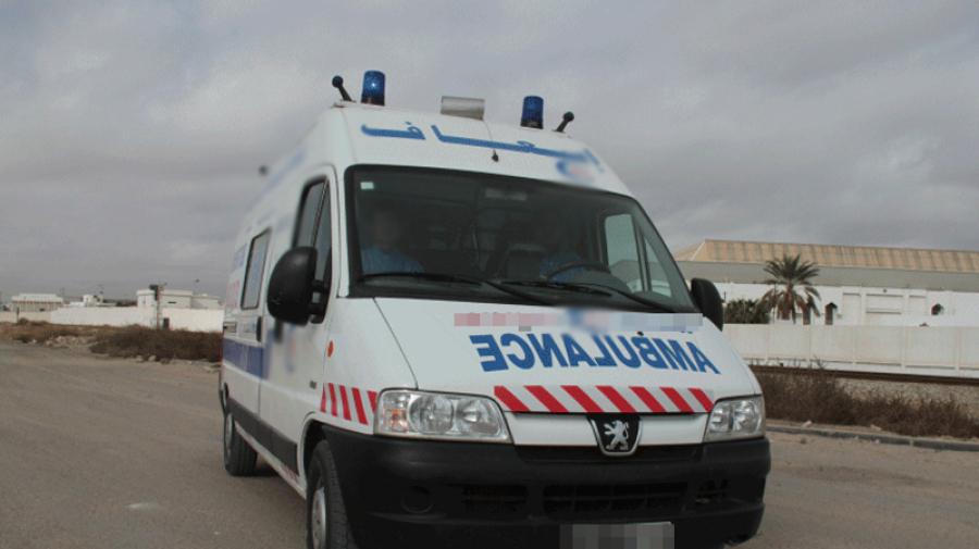 مدنين: وفاة مريض في حادث مرور لسيارة إسعاف