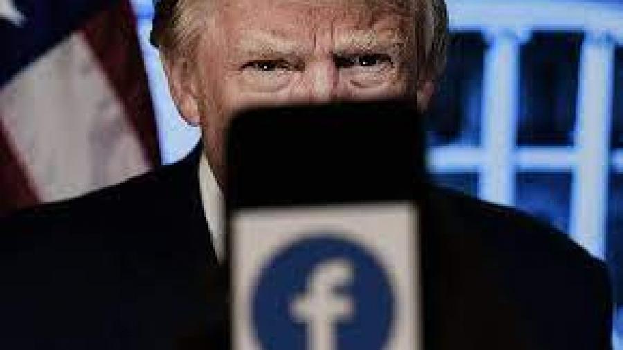 فيسبوك يعلّق حساب دونالد ترامب لعامين