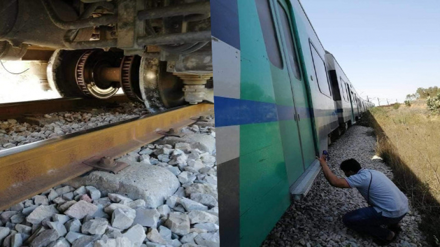 الضاحية الجنوبية: جنوح جزئي لعربة قطار