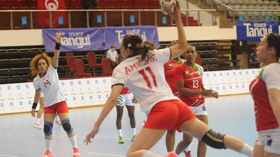كانكرة اليد: المنتخب التونسي للسيداتيحققه فوزه  الثاني