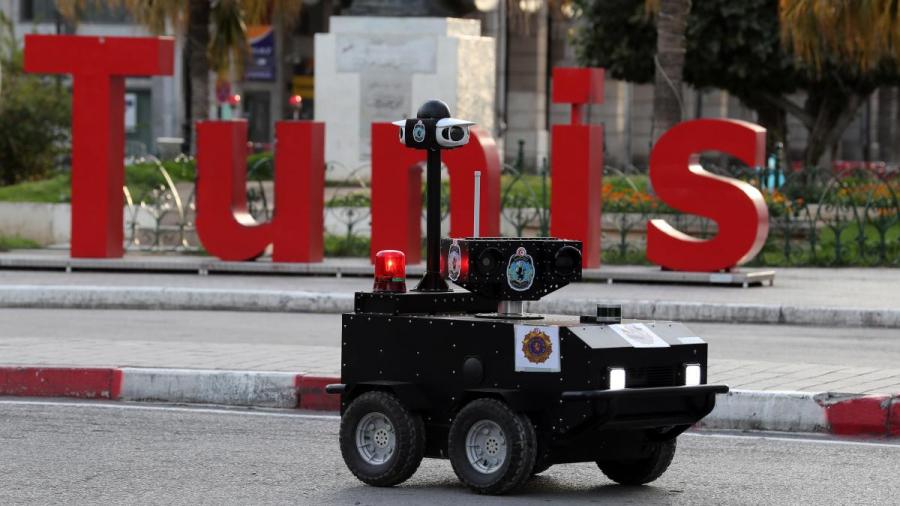 الروبوت التونسي قد ينضم مستقبلا إلى الجيش الفرنسي