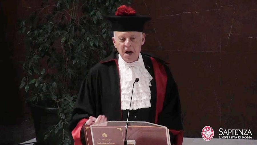 جامعة لاسابيانزا تمنح سعيّد الدكتوراه الفخرية
