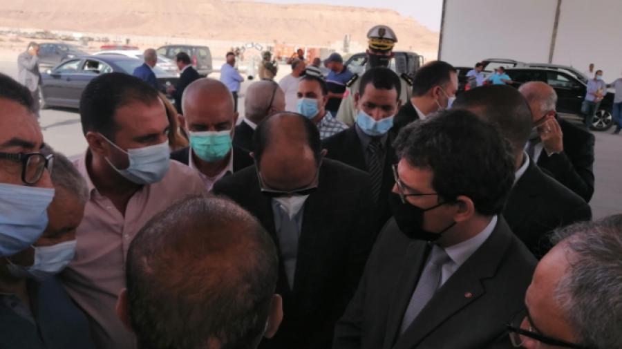 وزير النقل: لن نقبل تواصل تعطّل مشروع تهيئة معبر ذهيبة