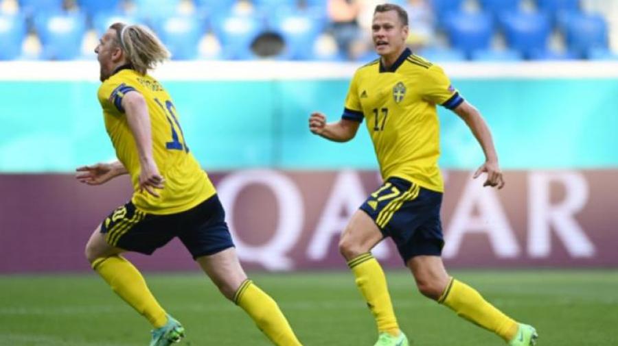 يورو 2020: فورسبيرج يقود السويد للفوز على سلوفاكيا 