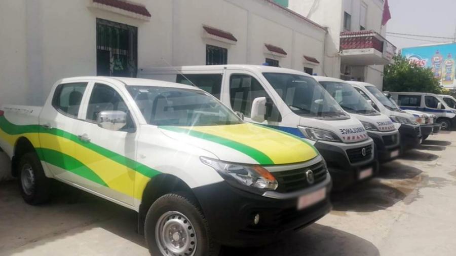 جندوبة تتسلم خمس سيارات إسعاف