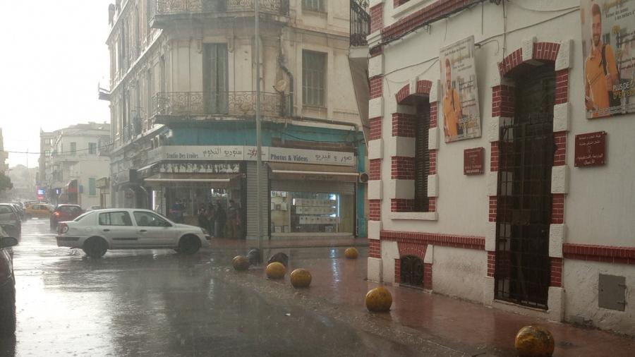 أمطار غزيرة ببنزرت