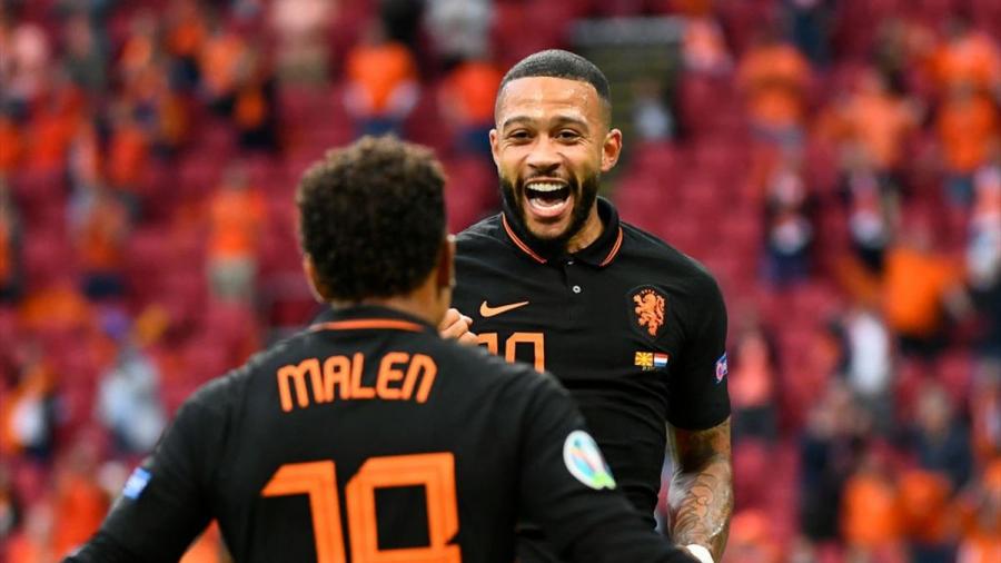 هولندا تهزم مقدونيا الشمالية بثلاثية في أمم أوروبا