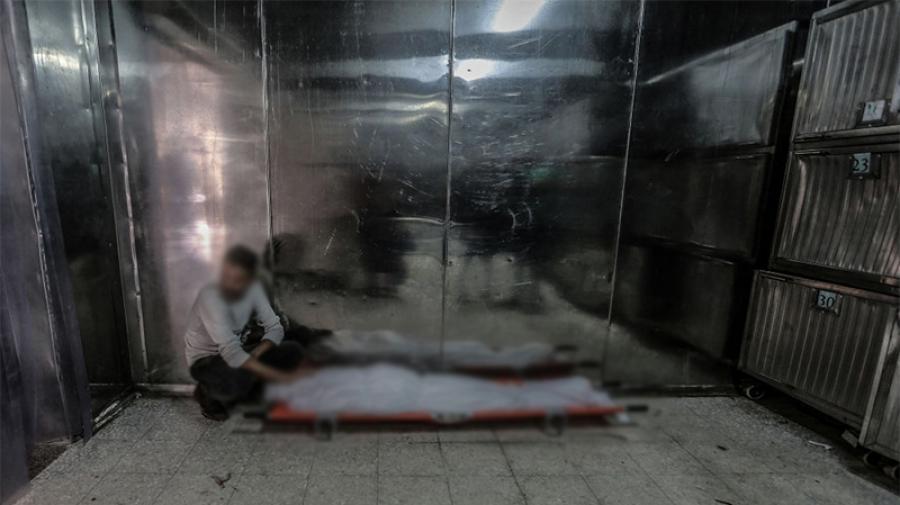 مستشفى الرابطة: غرفة الأموات تبلغ طاقتها القصوى وتدعيمها بشاحنة مبرّدة