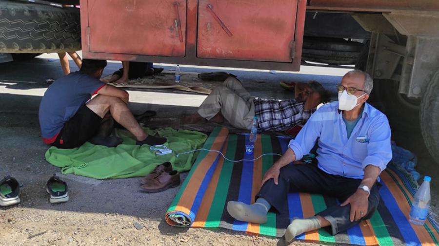 الحكومة الليبية تتكفل بإيواء مواطنيها العالقين في الجنوب التونسي