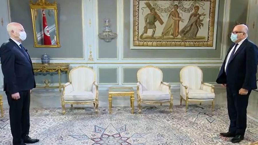 رئيس الجمهورية يثني على ما قدّمه فوزي مهدي على رأس وزارة الصحّة