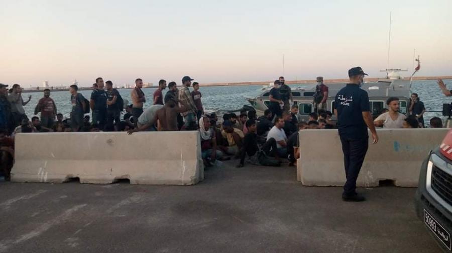 جرجيس: إنقاذ 160 مهاجرا غير نظامي وانتشال 15 جثة