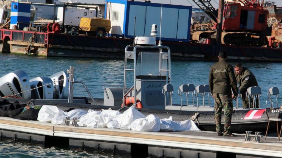 سواحل جرجيس: وفاة 16 مهاجرا غير شرعي داخل غرفة محرّك سفينة