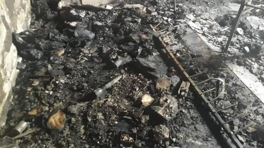 مدنين: اقتحام مقر حركة النهضة وحرق محتوياته