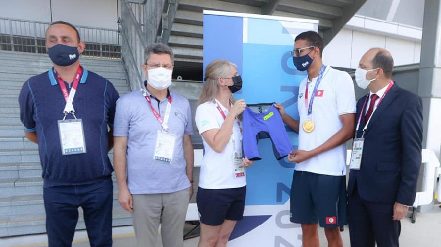 الحفناوي أول رياضي تونسي يخلد اسمه في المتحف الاولمبي