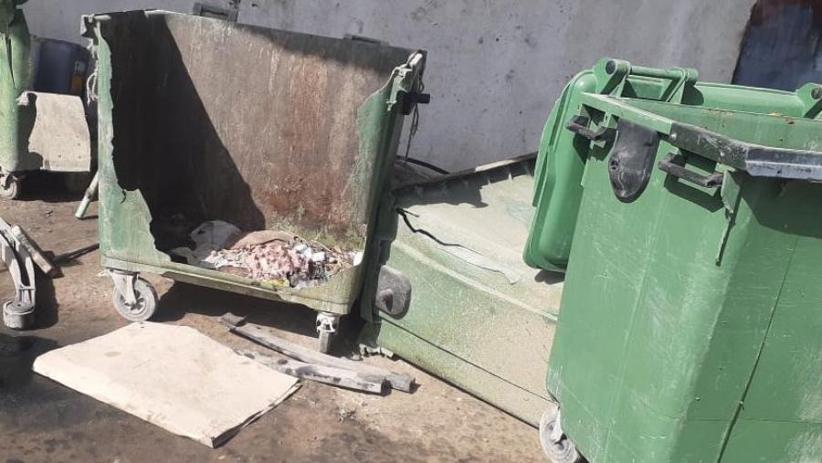 سوسة: شركة تُنظّف حاوياتها لنقل الفضلات داخل حي سكني!