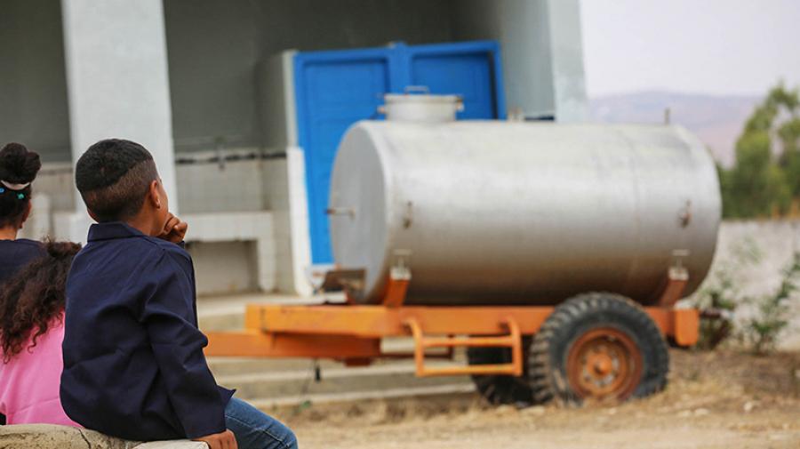 تطاوين: مدارس دون ماء والمندوبية تلتجأ للخزانات