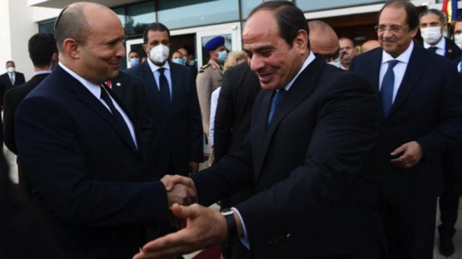 سدّ النهضة وملف السلام في لقاء عبد الفتاح السيسي بنفتالي بينيت