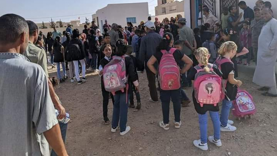 أهالي ذهيبة يرفضون عودة أبنائهم إلى المدرسة