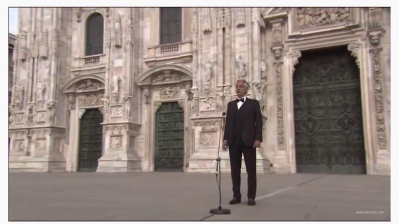 3 millions de personnes ont suivi en ligne le concert d'Andrea Bocelli