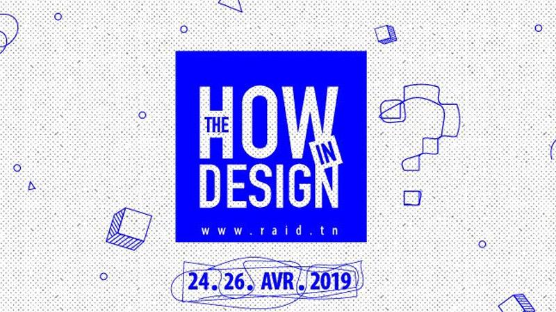 3ème édition de Design RAID du 24 au 26 Avril